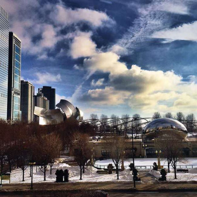 Cloudgate At Millennium Park Chicago