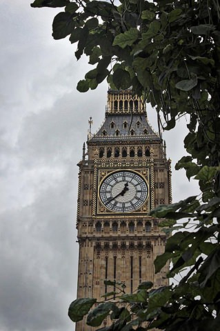 Pariliament Big Ben London England