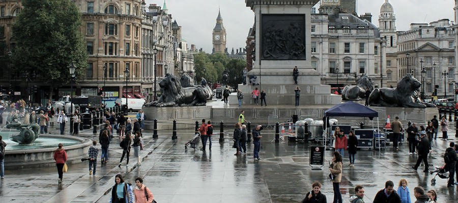 New Photos: London Eye, Big Ben and Trafalgar Square